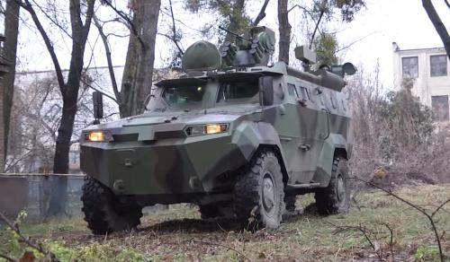 Український завод завершує випробування ще одного бронеавтомобіля (фото)