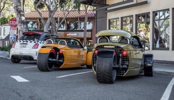 Vanderhall – диво-автомобіль на трьох колесах (фото)
