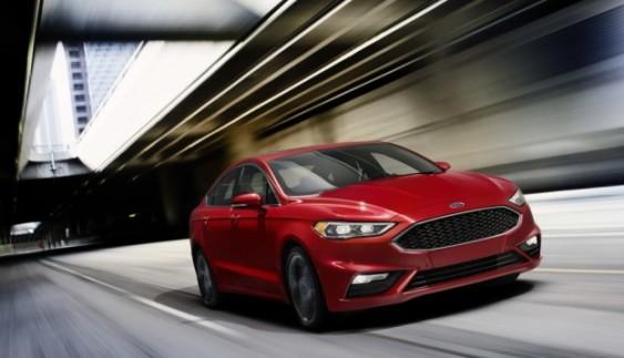 Седан Ford Fusion 2017 офіційно представили