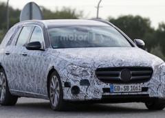 Новий універсал Mercedes-Benz E-Class помічений на тестах