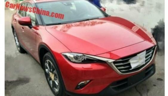 Помітили новий кросовер Mazda CX-4