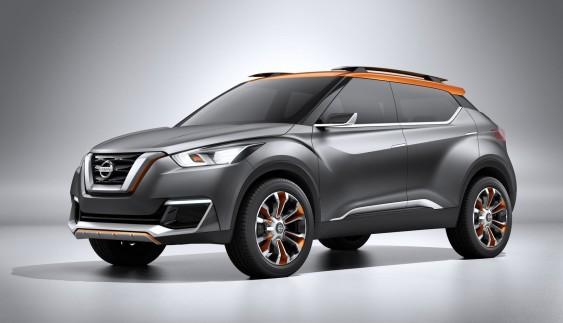 Nissan випустить новий кросовер Kicks в 2016 році