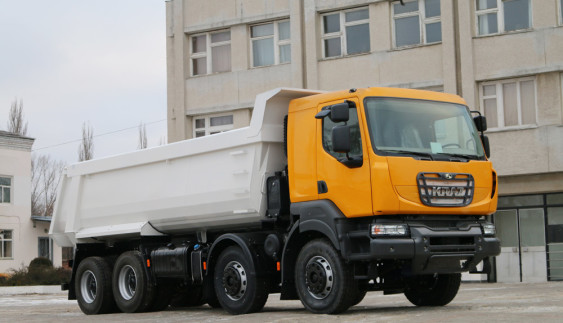 КрАЗ випустив найпотужнішу модель 8х4 (ФОТО)