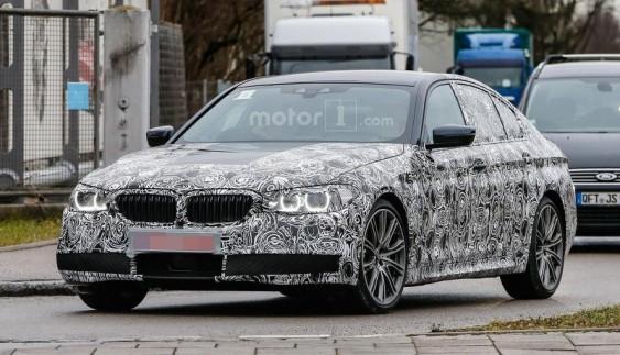 Шпигунські фото нової BMW 5 серії