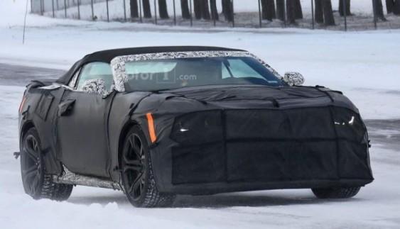 Chevrolet Camaro ZL1 засвітився під час тестів