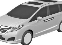 Патентне зображення нової Honda Odyssey