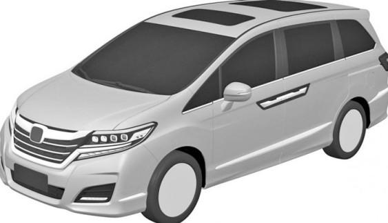 Патентные изображения новой Honda Odyssey