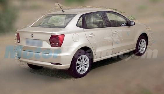 Volkswagen вкоротив седан Polo (ФОТО)
