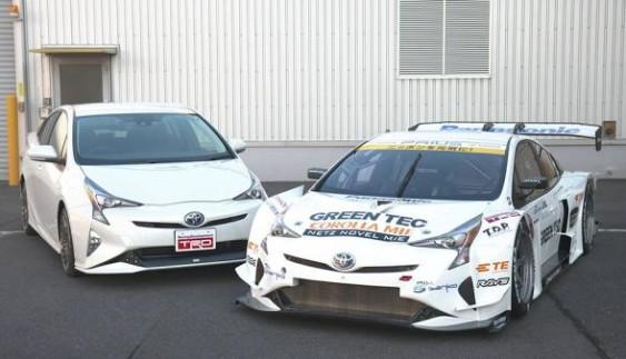 Японці показали спортпрототип з дизайном нового «Пріуса»