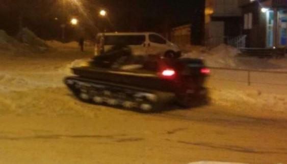 В Україні помічений незвичайний вид транспорту (ФОТО)