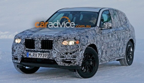 BMW X3 надійде в продаж в 2017 році