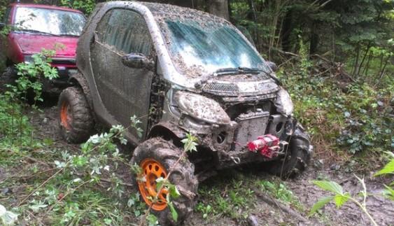 Вражаюче: українець зі SMART зробив танк-позашляховик