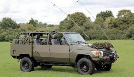 "Toyota Land Cruiser буде ""служити"" в армії (фото)"