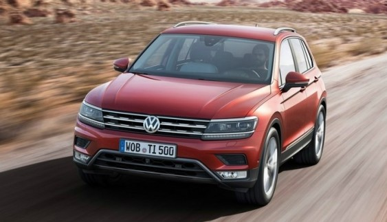 Volkswagen представить гібридний Tiguan на Детройтському автошоу