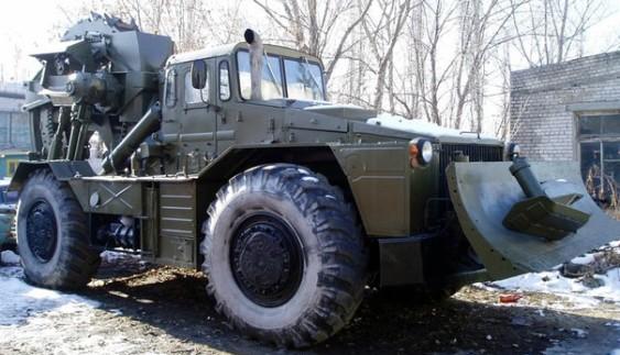 Траншейні машини ТМК і ТМК-2 на базі МАЗ-538