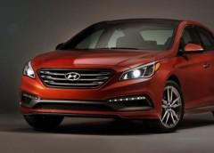 Hyundai опублікував перші зображення оновленої «Сонати»