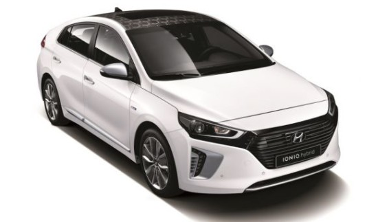 Hyundai виклала дві нові фотографії гібрида IONIQ