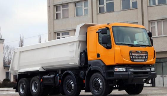 КрАЗ-7233С4 — нова спеціальна вантажівка формулою 8х4 (Фото)