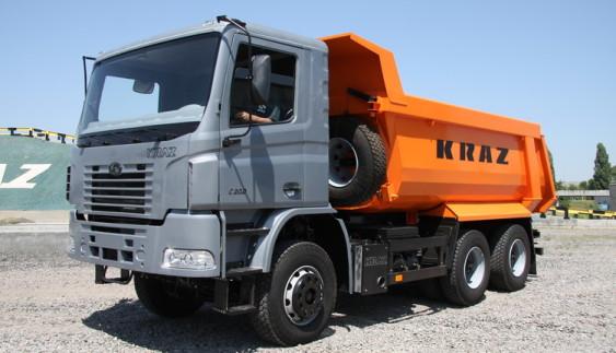 КрАЗ C20.2 – самоскид з вдалим компонуванням, як у вантажівок MAN