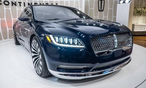 Новий Lincoln Continental – автомобільний салон Детройта 2016