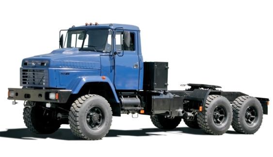 КрАЗ «Бурлак» – український супертягач для екстремальних кліматичних і дорожніх умов