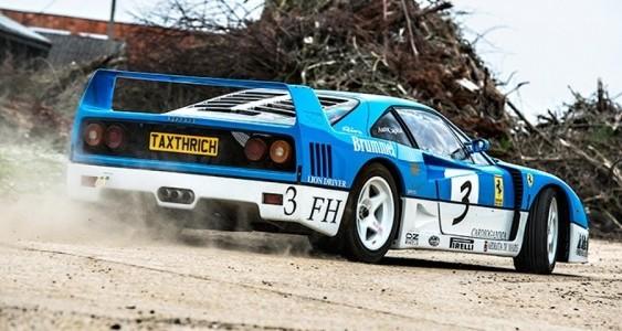Британці влаштували дрифт на раритетному Ferrari F40