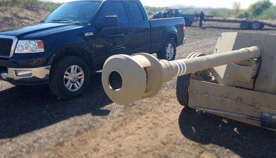 Що буде, якщо з протитанкової гармати вистрілити в джип (відео)