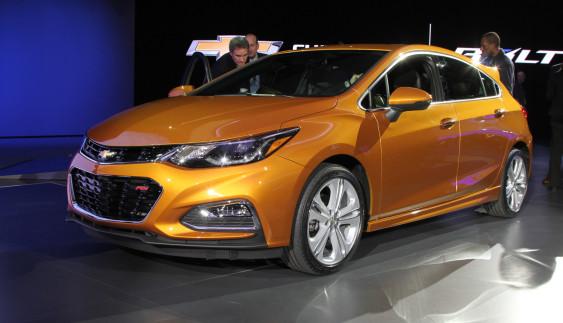 Новий хетчбек Chevrolet Cruze отримає «гарячу» версію (ФОТО)