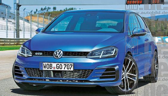 Volkswagen готовится представить оновленный Golf на автосалоне в Женеве