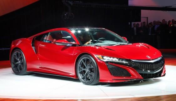 Honda NSX – найбільш очікуваний автомобіль 2016