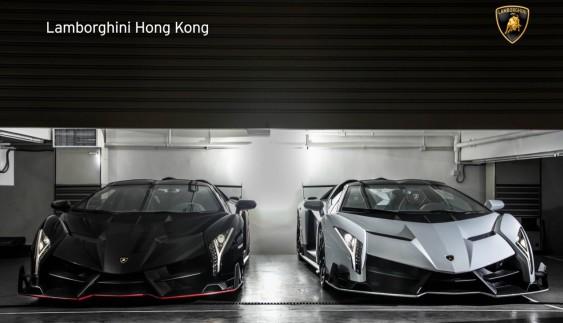Делікатес для очей: два надзвичайно дорогі Lamborghini Veneno Roadster