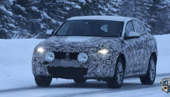 BMW X2 помітили під час зимових випробувань