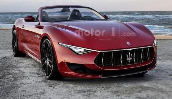 Рендер Maserati Alfieri Cabrio 2019 заслуговує похвали