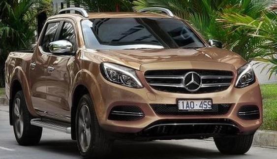 Нова інформація про пікап Mercedes
