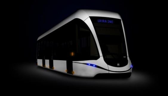 ЛАЗ випустить трамвай з футуристичним дизайном
