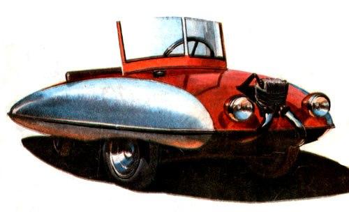 ЛИC – двомісна машина незвичайної форми 1957 року