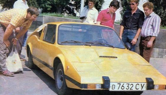 Мурена – унікальний автомобіль сумського конструктора