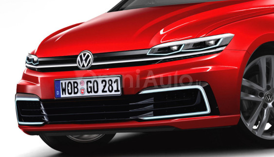 Незалежний рендер Volkswagen Golf 2017