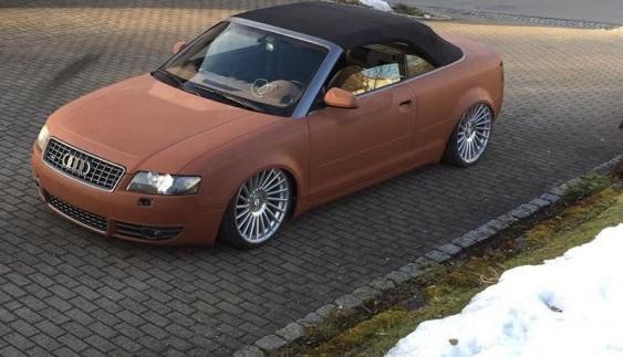 """Дивовижно: Audi S4 Cabrio в шкіряному """"вбранні"""""""