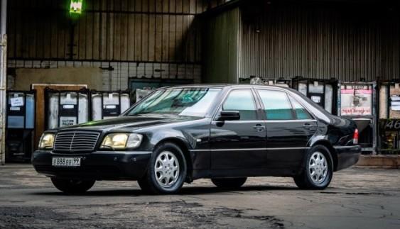 Унікальний Mercedes-Benz W140 S600 L Guard: броньовик з 90-х