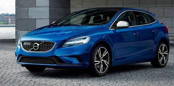 Volvo представила оновлений хетчбек V40