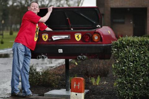 Незвичайний варіант, або поштова скринька з Ferrari (ФОТО)