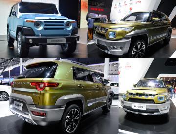Позашляховик Beijing Auto BJ40L засвітився на чергових тестах в Китаї (ФОТО)
