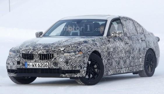 Прототип BMW 3-Series проходить зимові тестування (Відео)