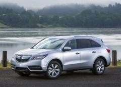 Acura показала тизер оновленого кросовера MDX