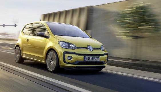 Показали міський «малюк» Volkswagen Up після оновлення (Відео)