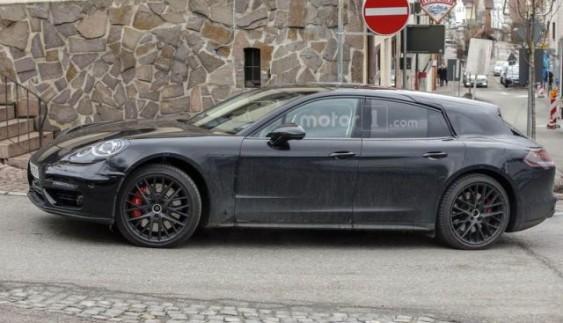 Засвітився новий Porsche Panamera універсал (ФОТО)
