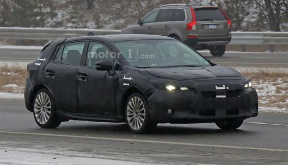 Subaru тестує новий хетчбек Impreza (ФОТО)
