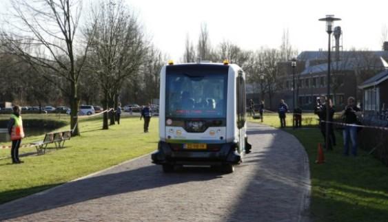 Електроавтобус без водія здійснив перший рейс