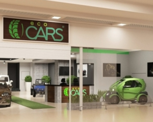 В Україні відкрили перший салон з продажу електромобілів